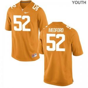 Elijah Medford Jersey Youth Vols Game - Orange