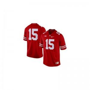 Ezekiel Elliott Men Jerseys OSU Game - Red