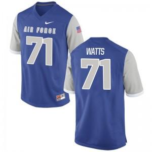 Garrett Watts USAFA Limited Men Jerseys - Royal
