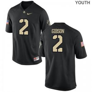 USMA Gibby Gibson Jerseys Youth(Kids) Limited Black