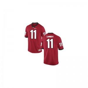UGA Bulldogs Greyson Lambert Game Mens Player Jerseys - Red