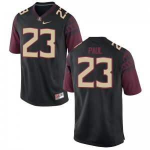 Herbans Paul Florida State Seminoles Jersey Black Mens Game