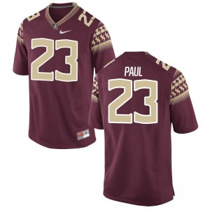Game Florida State Seminoles Herbans Paul Mens Garnet Jerseys