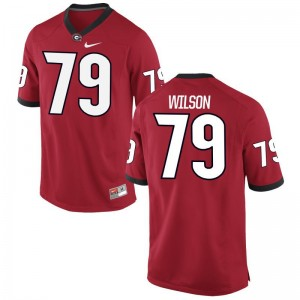UGA Isaiah Wilson Mens Limited Stitched Jersey Red