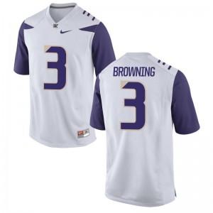Jake Browning UW Huskies Jersey For Men Limited - White