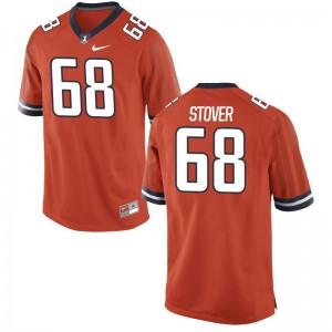 Jake Stover Jerseys University of Illinois Orange Limited For Men Jerseys