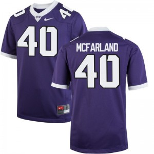 James McFarland Texas Christian Jerseys For Kids Limited - Purple