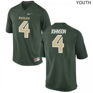 Miami Hurricanes Jaquan Johnson Jerseys Official Youth Limited Green Jerseys