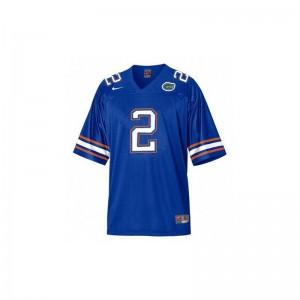 Jeff Demps For Men Jerseys University of Florida Game - Blue