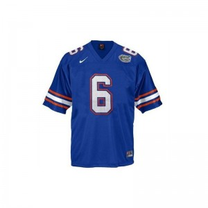 Florida College Jeff Driskel Limited Jersey Blue For Men