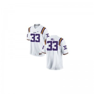 LSU Tigers Jersey Jeremy Hill Youth(Kids) Game - White