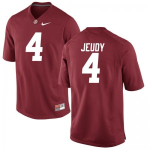 Jerry Jeudy Alabama Jersey Red For Men Game