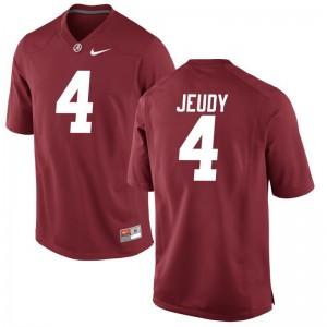 Limited Jerry Jeudy Jerseys Bama Red Mens