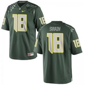 Jimmie Swain For Men Jerseys Limited Oregon Green