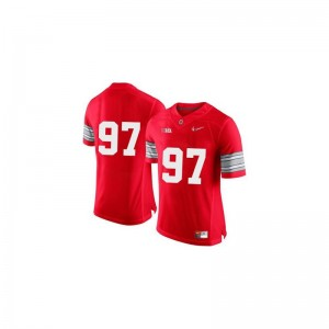 Limited Joey Bosa Jerseys Youth Ohio State - Red Diamond Quest Patch