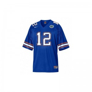 Youth Game Football Florida Jersey John Brantley Blue Jersey