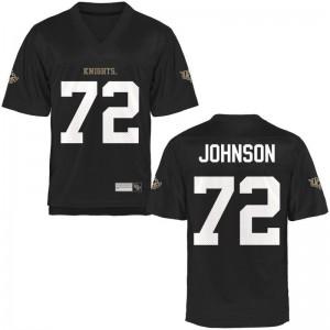 Jordan Johnson UCF Jerseys Black Mens Limited