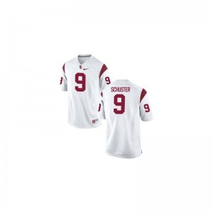 JuJu Smith-Schuster Kids Jerseys Limited White Trojans