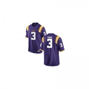 Kevin Faulk Youth(Kids) Jerseys Limited LSU Purple