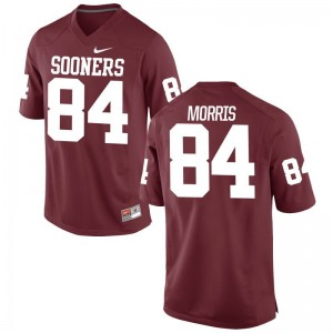 Sooners Game Crimson Mens Lee Morris Jerseys