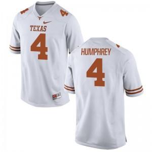 Longhorns Mens Limited Lil'Jordan Humphrey Jerseys - White