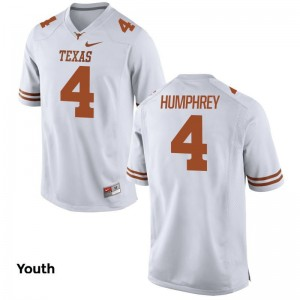 University of Texas Kids White Game Lil'Jordan Humphrey Jersey