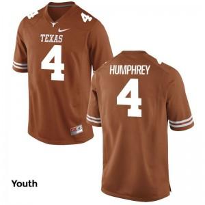 Longhorns Lil'Jordan Humphrey Youth Limited Jersey Orange