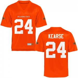 Oklahoma State Cowboys Mens Orange Game Malik Kearse Jersey