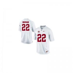 Alabama Crimson Tide Mark Ingram Game Youth Jersey - White