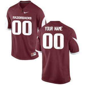 Arkansas Razorbacks Limited Mens Customized Jerseys - Cardinal