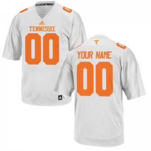 UT Customized Jersey Men Limited Customized Jersey - White