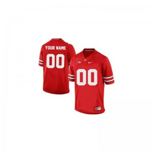 OSU Custom Jerseys Limited Mens Custom Jerseys - Red