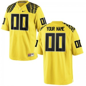 Men Custom Jerseys Embroidery Gold Limited UO Custom Jerseys