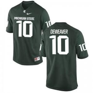 Men Messiah deWeaver Jersey Spartans Limited 10 Messiah DeWeaver Green