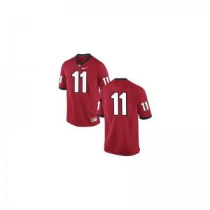Game Greyson Lambert Jersey UGA Bulldogs #11 Red Men