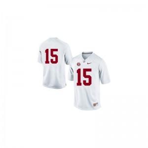 Bama Limited JK Scott For Men #15 White Jerseys