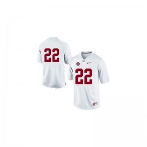 Mark Ingram Men Bama Jerseys #22 White Limited Embroidery Jerseys