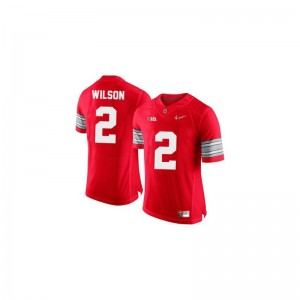 Dontre Wilson Ohio State Men Jerseys #2 Red Diamond Quest Patch Limited Jerseys