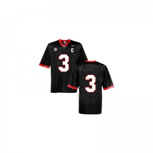 #3 Black Limited Todd Gurley Jersey Mens Georgia