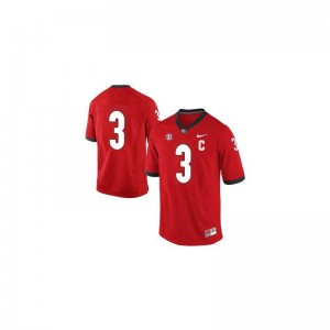 Limited #3 Red Todd Gurley Jerseys For Men UGA Bulldogs