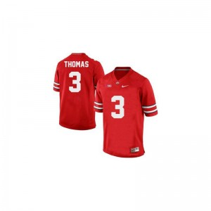 #3 Red Michael Thomas Jerseys Ohio State Men Limited