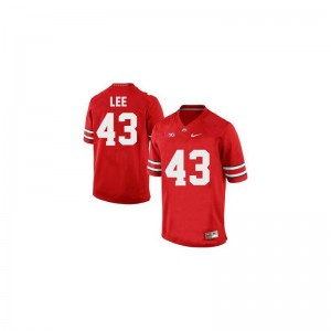 Darron Lee Men Jersey #43 Red Ohio State Game