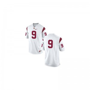 JuJu Smith-Schuster USC Jerseys Limited Men #9 White