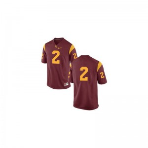 Trojans Mens Limited Adoree' Jackson Jerseys - #Cardinal