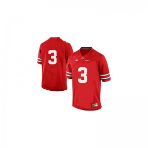Men Michael Thomas Jersey Football Red Game OSU Buckeyes Jersey