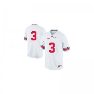 OSU Buckeyes Michael Thomas Men Limited White Stitched Jerseys