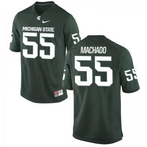 Spartans Miguel Machado Game Youth Jerseys - Green