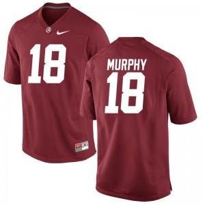 Montana Murphy Jerseys Bama Men Game - Red