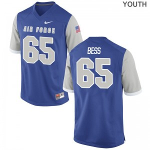 Kids Neal Bess Jerseys Air Force Game - Royal
