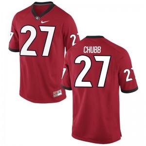 Nick Chubb Jersey Mens University of Georgia Limited - Red
